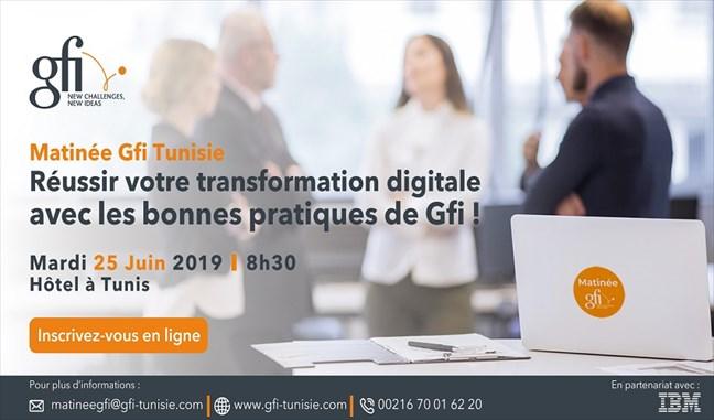 Dans le cadre de ses Matinées thématiques, Gfi Tunisie, acteur dynamique dans les métiers du conseil et des services d'ingénierie informatique,